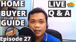 Download Home Buyer Guide Episode 27 Live Q & A, Oct 3, 2020 | Tips on Buying a House Philippines