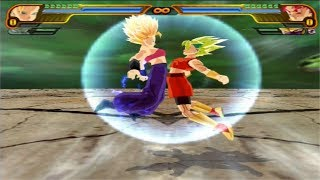 Dragon Ball Z Budokai Tenkaichi 3 - Caulifla And Kale  - Fusion Kefla (Kefura) (MOD) PS2