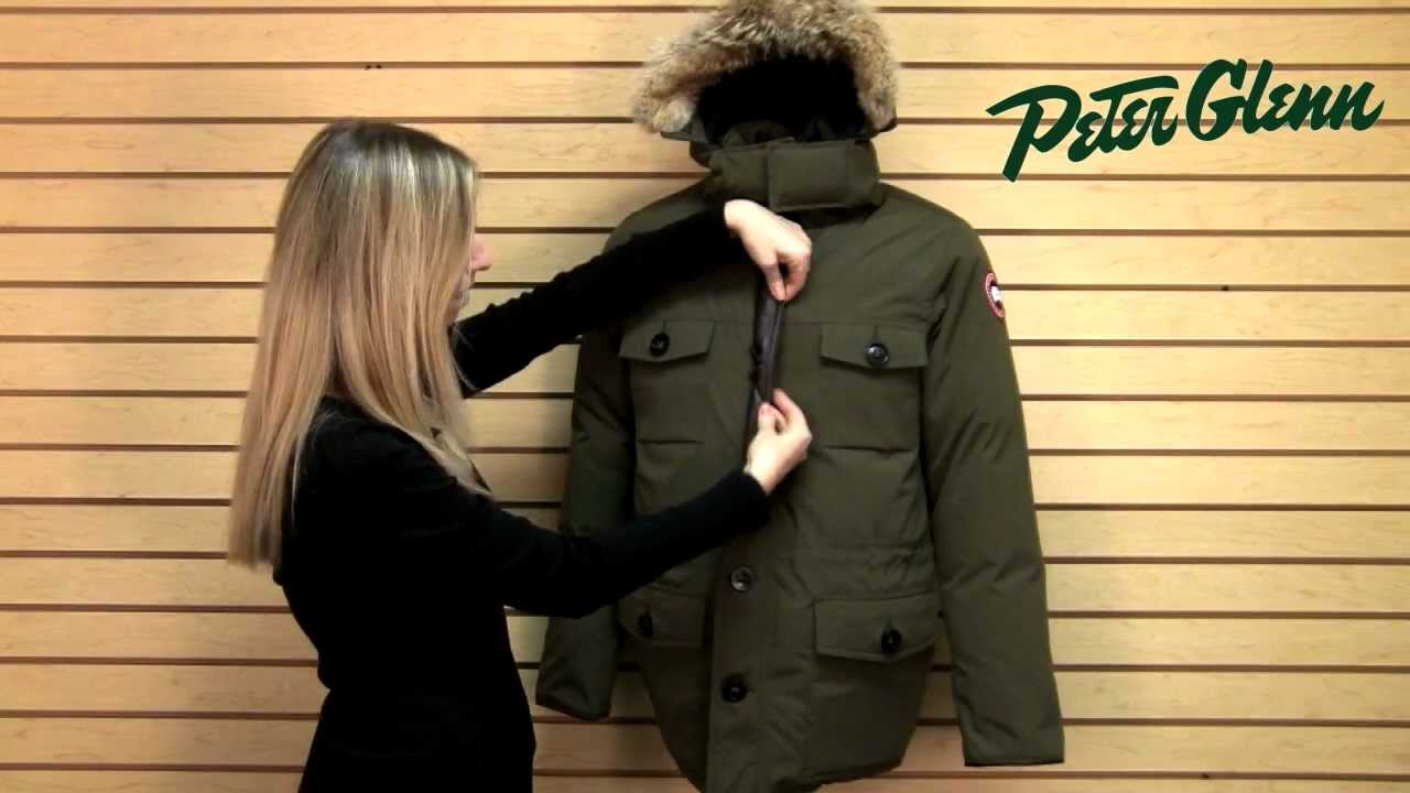Canada Goose vest outlet discounts - Canada Goose Banff Parka Review from Peter Glenn - YouTube