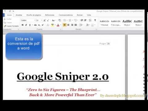 Como traducir un pdf en ingles a espaol youtube malvernweather Images