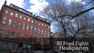 RI FOOD FIGHTS' Spectacular Cookie Smackdown Promo feat. Chuck and Brad!