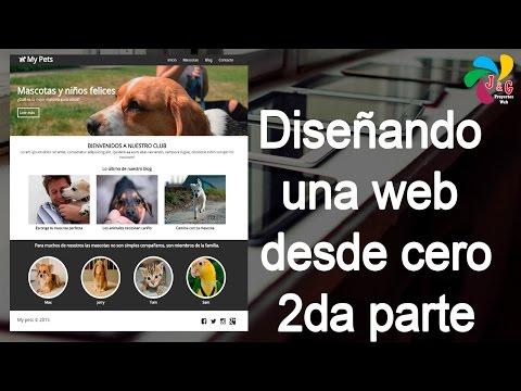 Diseñando Una Web Responsive Desde 0 (sin Plugins Ni Framewoks), HTML Y CSS - 2da Parte