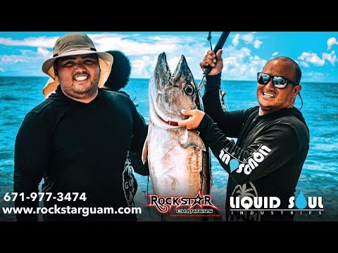 Fishing At 100-mile Reef | Guam | Rockstar Charters
