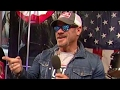 watch he video of Phil Vassar talks supporting the military with the USO