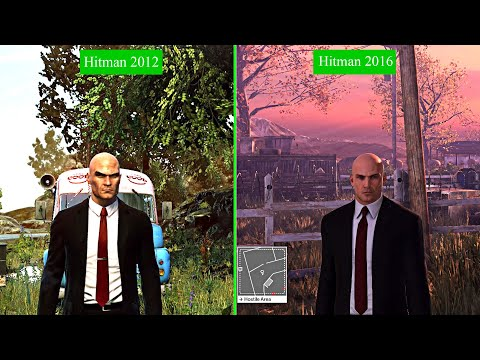 Hitman Absolution Vs Hitman Comparison