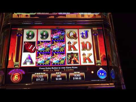 World Of Jackpots Players Paradise Slot Machine Free Spins Bonus BIG WIN