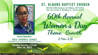 St. Albans Baptist Church, Online Service (60th Annual Women's Day)