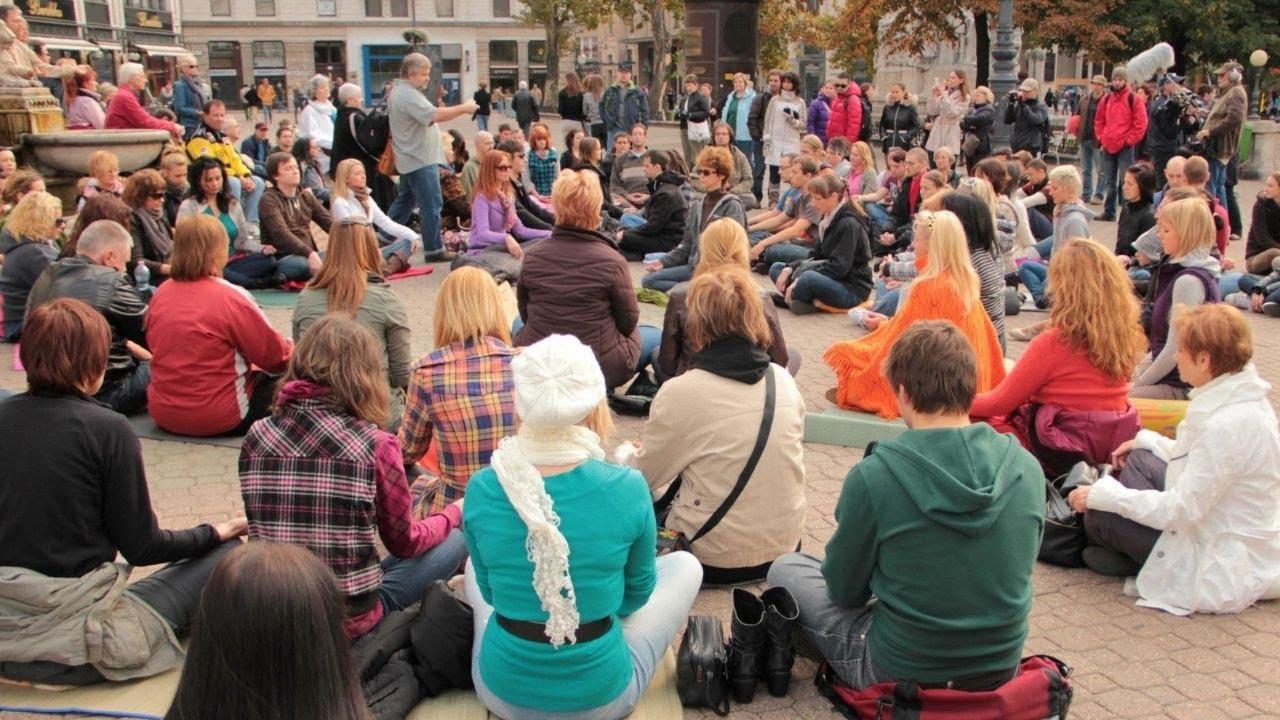 promo codes buy popular no sale tax Meditation Flashmob @ Budapest 15.10.11.