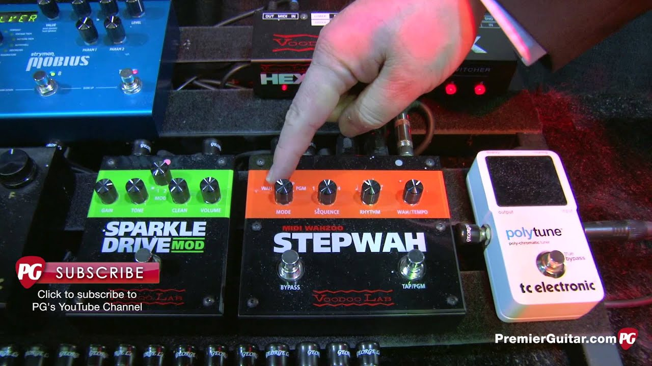 Namm 13 Voodoo Lab Pedal Switcher Px 8 Hex Audio Loop Midi Effects Looper Wiring Diagram Power Mondo Youtube