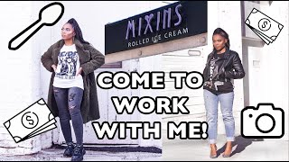 Come With Me To Work Vlog | Trishonnastrends