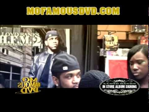 Lloyd Banks HFM2 Live  In-Store At Hall Of Fame Music Store In Queens, NY