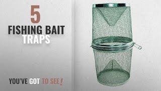 Top 10 Fishing Bait Traps [2018]: Gee-Feets G-40 Minnow Trap