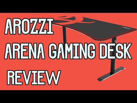 Arozzi Arena Gaming Desk Analysis | Review