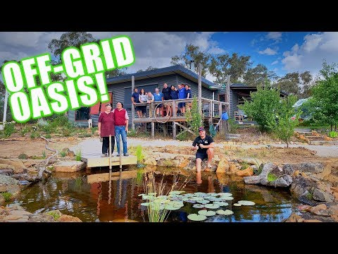 Living OFF GRID with an Aquascape POND