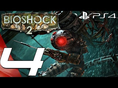 BioShock 2 Remastered (PS4) - Gameplay Walkthrough Part 4 - Dionysus Park 1080P 60FPS
