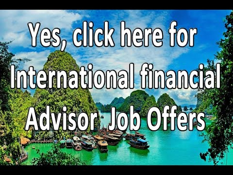 IFA Jobs Offshore Financial Advisor Jobs offshore International FInancial Advisor Jobs