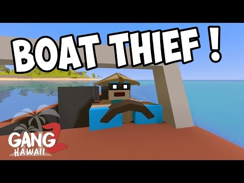 GRAND THEFT BOAT - Unturned GangZ S5E03 (Hawaii Map Multiplayer PvP)