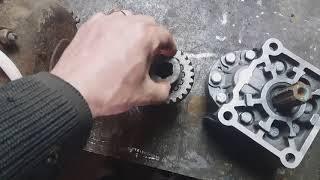 Как соединить Насос НШ с электродвигателем.