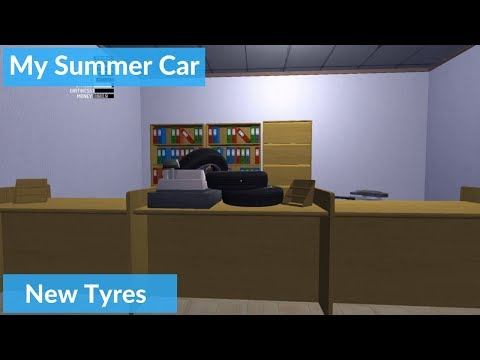 New Tyres | My Summer Car