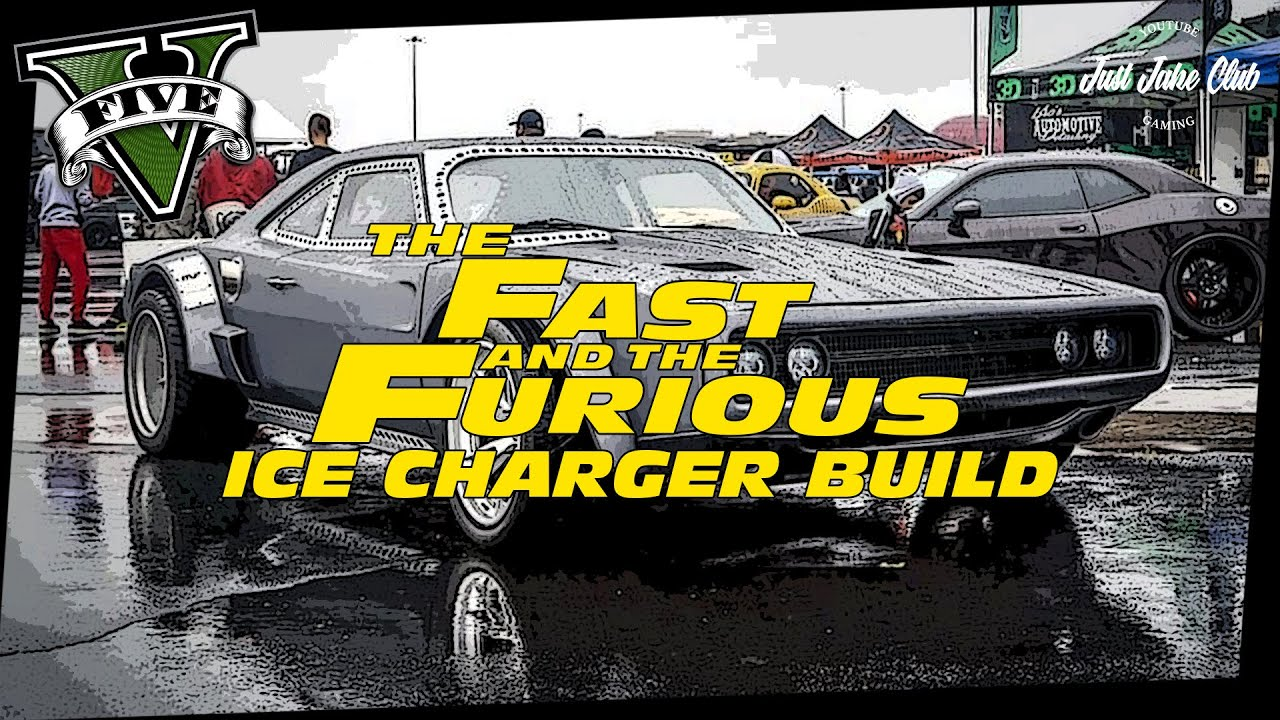 Fast Furious Dodge Ice Charger Custom Car Build Tutorial Gta