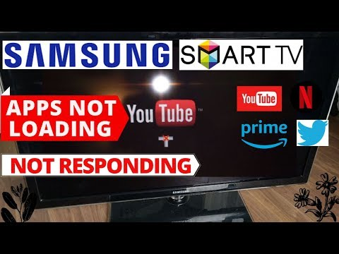 How To Fix Apps Not Loading On Samsung Smart TV || Samsung TV Common Problems & Fixes