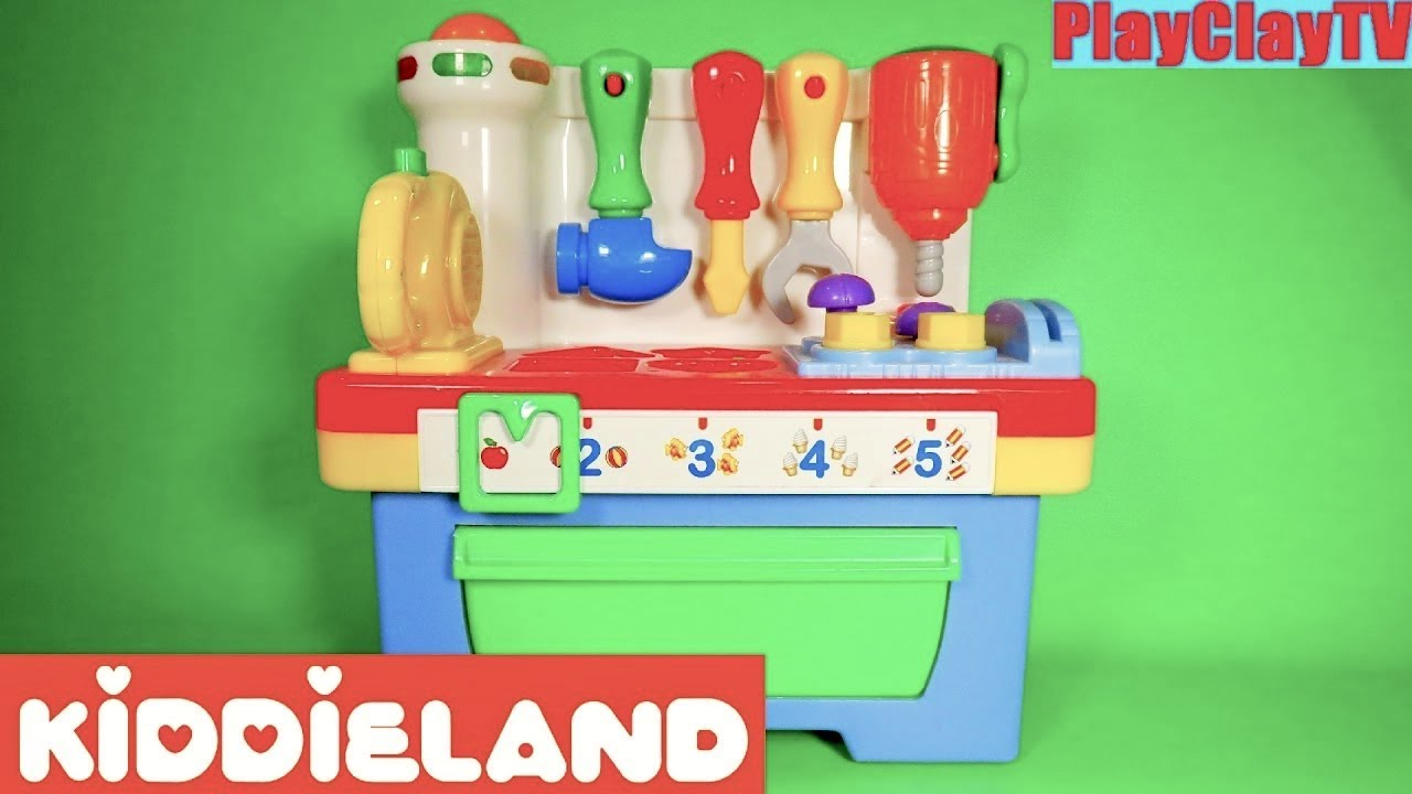 Learning Toys for toddlers Kiddieland playset Singing ...