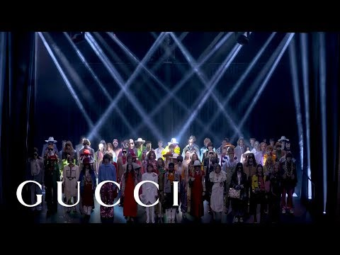Gucci Spring Summer 2019 Fashion Show: Full Video