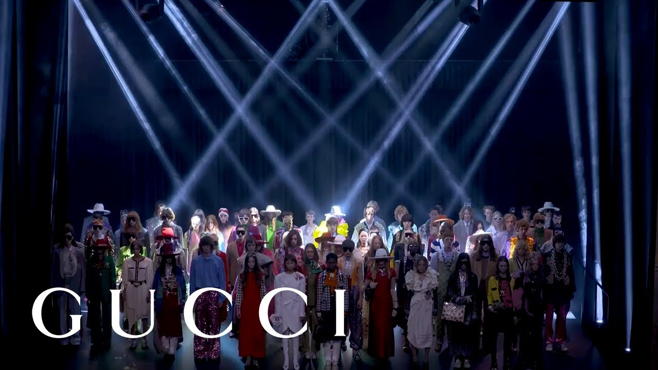 [VIDEO] - Gucci Spring Summer 2019 Fashion Show: Full Video 1