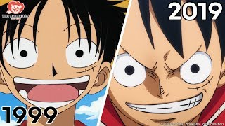 A Moment from Every Year of One Piece