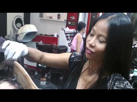 Bangkok Hair Salon Experience - Zen Red Hair