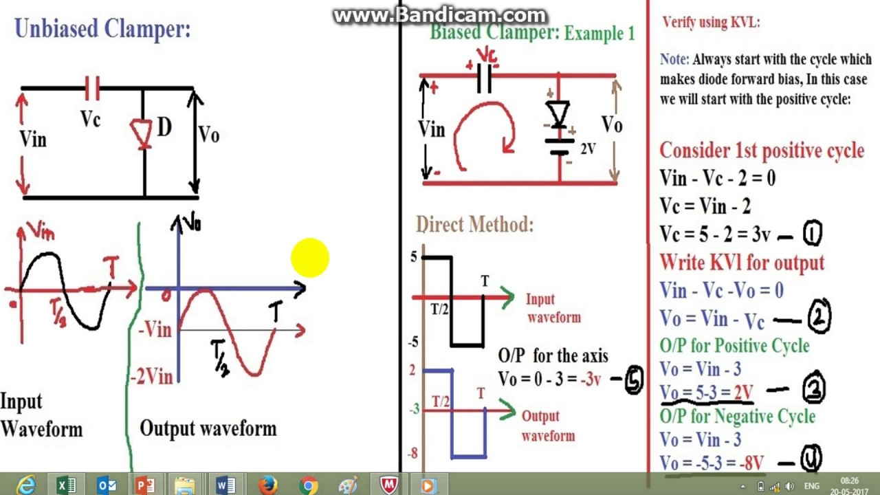 Write Direct Circuits Data Wiring Diagrams Online Diagram Trick Simplest Method To Find The Output And Draw Waveform Of Rh Youtube Com Starter A Current In Circuit