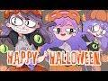 6 art styles challenge (Happy  halloween)
