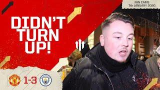 PLAYERS DON'T UNDERSTAND A DERBY! Man Utd 1-3 Man City EFL Cup Semi-Final Fan Cam