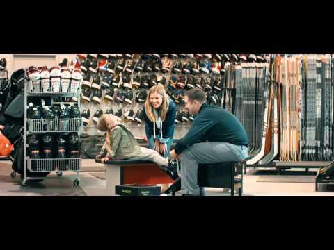 Mon idole — Annonce publicitaire de hockey pour La Source du sport