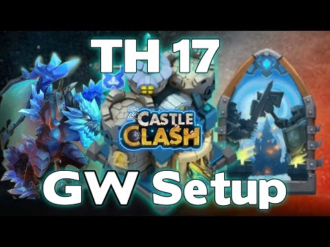 Castle Clash Town Hall 17 Guild Wars Base #1