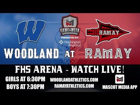 2019 Woodland Vs  Ramay Boys Basketball