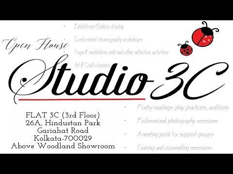 Studio 3C | A Multi-Utility Space | Open House | Art Exploration Calcutta [HD]