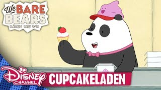 WE BARE BEARS - BÄREN WIE WIR // Clip: Cupcakeladen | Disney Channel