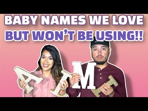 Baby Names We Love But Won't Be Using +  BABY NAME REVEAL!!