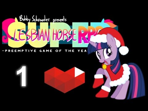 MLP Stream: Super Lesbian Horse RPG (Revisited) Session 01 (1/2) - Price of Knowledge