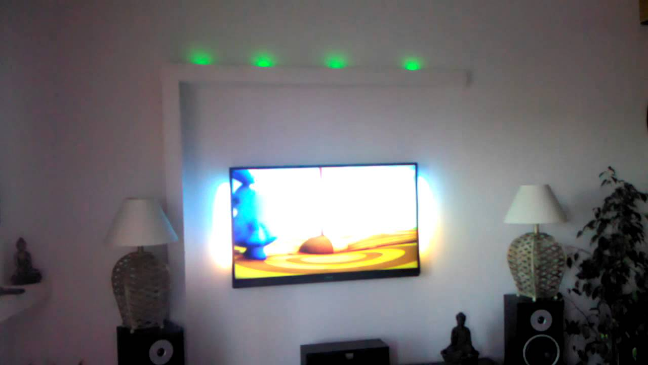 Tv Encastrable Dans Un Meuble Meuble Placo - Youtube