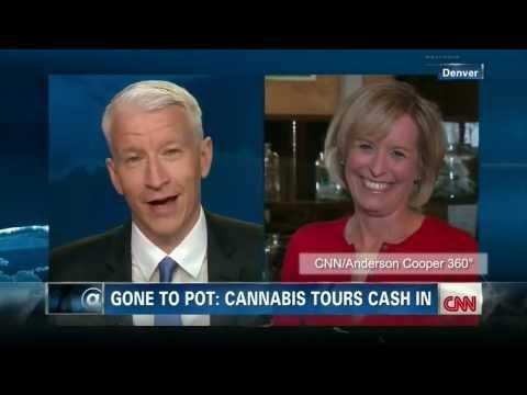 CNN reporter Randi Kaye, on-air na na-high sa marijuana sa Colorado!