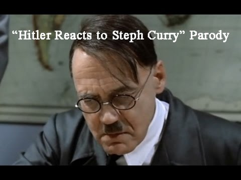 Hitler Reacts To Steph Curry And NBA Champion Golden State Warriors Parody