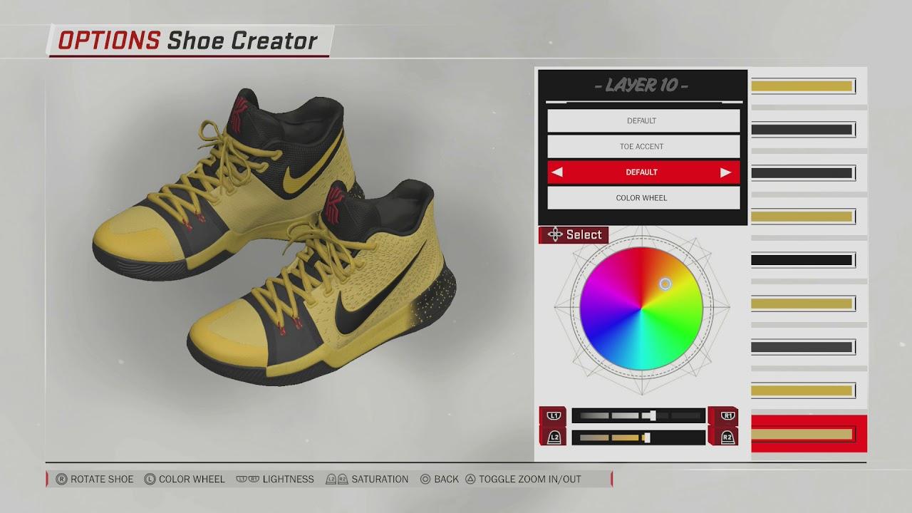 NBA 2K18 Shoe Creator  33a0eb2e6