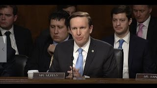 Senator Murphy Continues Questioning Rex Tillerson in Second Round of Nomination Hearing