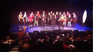 "Gotham Rock Choir sings ""Livin"