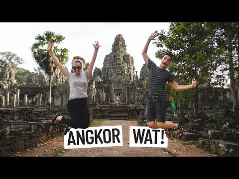 YOU HAVE TO VISIT ANGKOR WAT! | Siem Reap, Cambodia | Angkor Thom, Tomb Raider