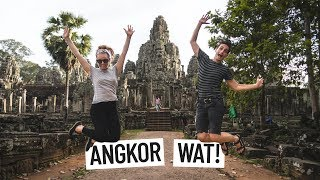 YOU HAVE TO VISIT ANGKOR WAT! | Siem Reap, Cambodia | Angkor Thom, Tomb Raider