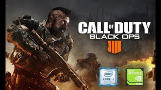 Call of Duty Black Ops 4 Blackout, 940 mx gamplay test [ Low Settings ].....