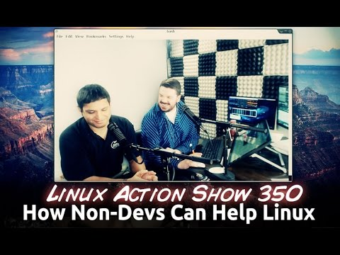 How Non-Devs Can Help Linux | Linux Action Show 350